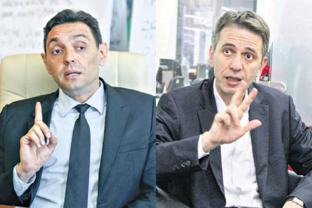 Aleksandar Vulin: Raduloviću, bruko, koliko si miliona maznuo?
