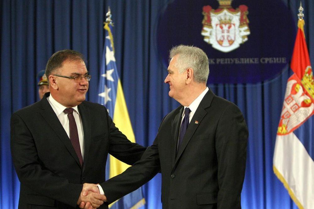 SASTANAK U PREDSEDNIŠTVU: Nikolić danas prima Ivanića