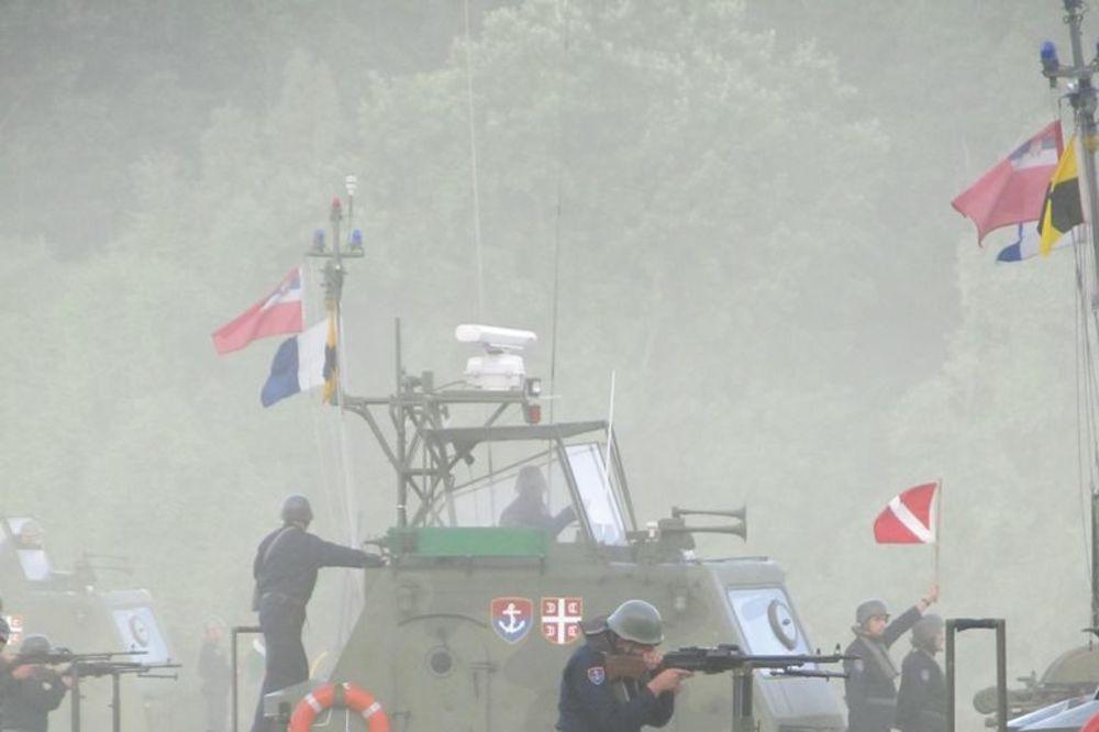 PLAVI DELFIN 2016: Rečna flotila izvela gađanje na poligonu Titel
