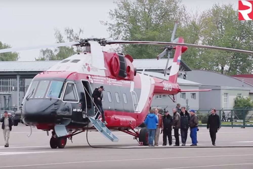 (VIDEO) Novi ruski helikopter Mi-38 može da dosegne vrh Mont Everesta