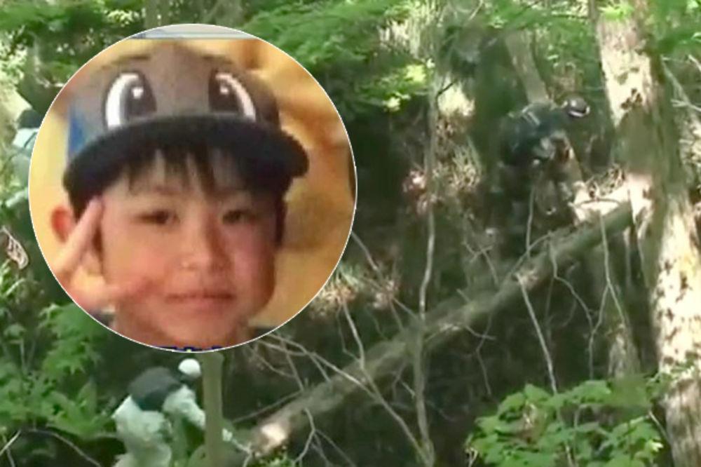 (VIDEO) NEMA GA NIGDE: I japanska vojska traži dečaka (7) kog su roditelji ostavili u šumi