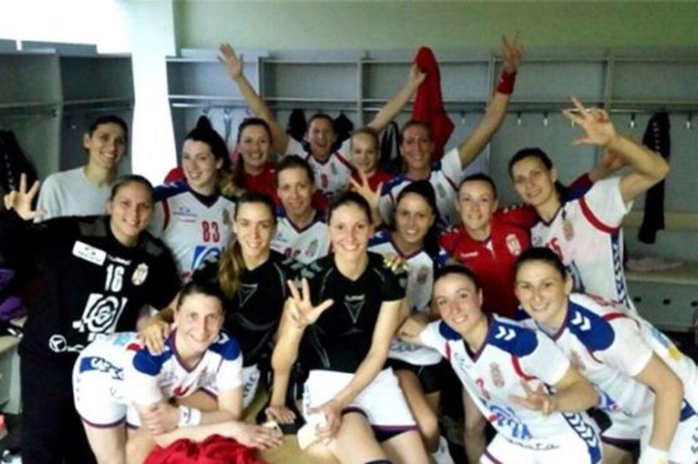 UKRAJINKE NEMOĆNE: Rukometašice Srbije pobedom u Kijevu obezbedile prvo mesto u grupi