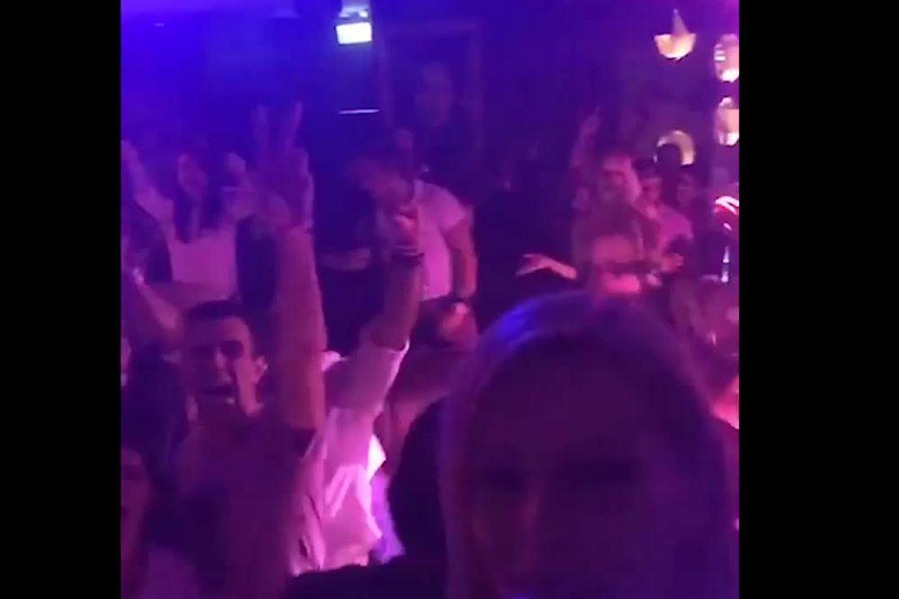 (VIDEO) JELENA KOSTOV RAZVALILA: Ceo Abu Dabi peva uz pesmu Beograd!
