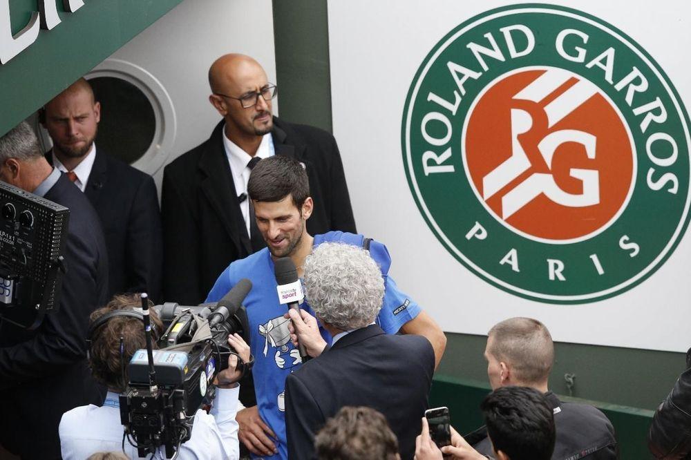 Novak Đoković, Rolan Garos, Foto: Fonet/AP