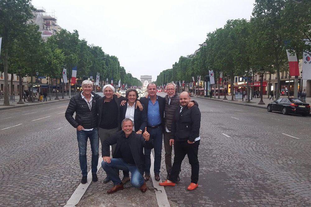 I oni su u Parizu uz Novaka