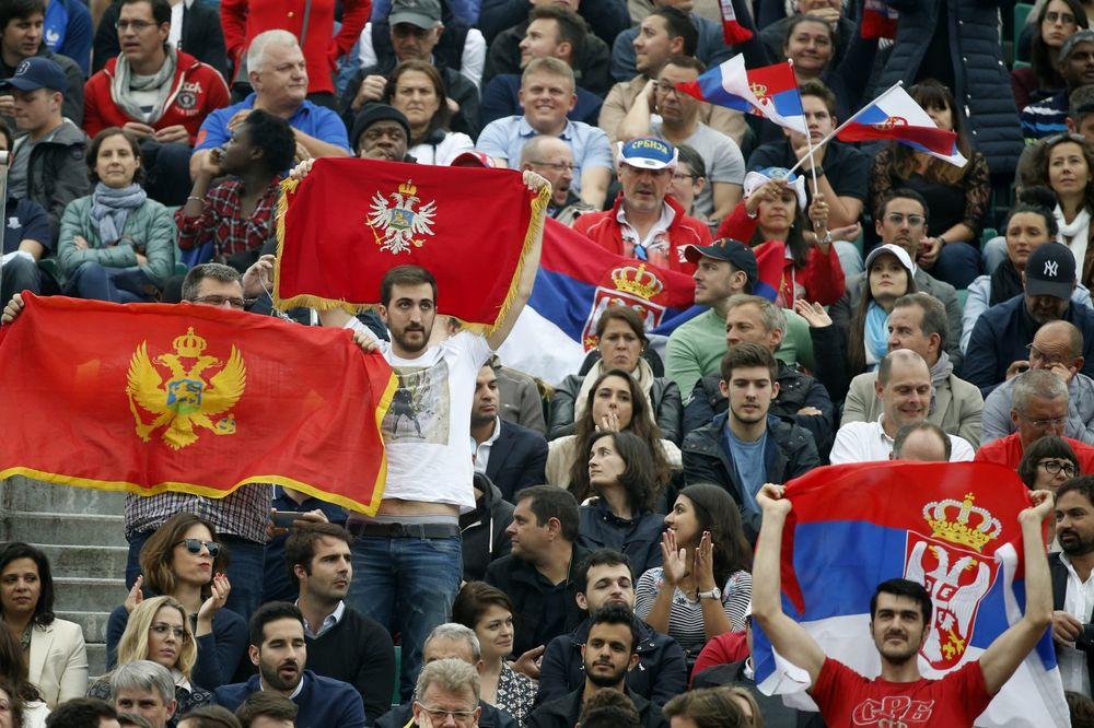 Navijači, Rolan Garos, Novak Đoković, Foto: AP