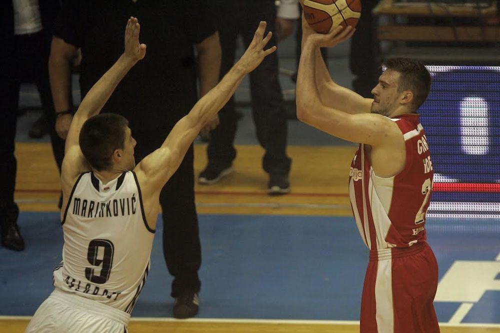 (VIDEO) LUDNICA U PIONIRU: Ovom trojkom Gudurića u poslednjoj sekundi Zvezda je pobedila Partizan
