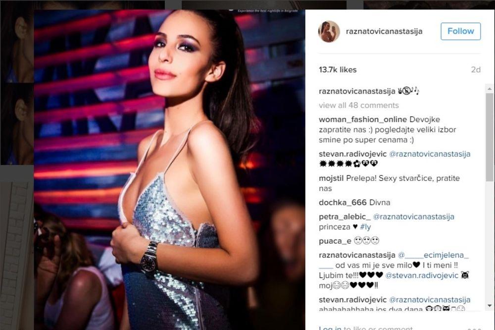 (FOTO) Anastasija objavila SELFI IZ KREVETA! Društvene mreže poludele, oborila Instagram
