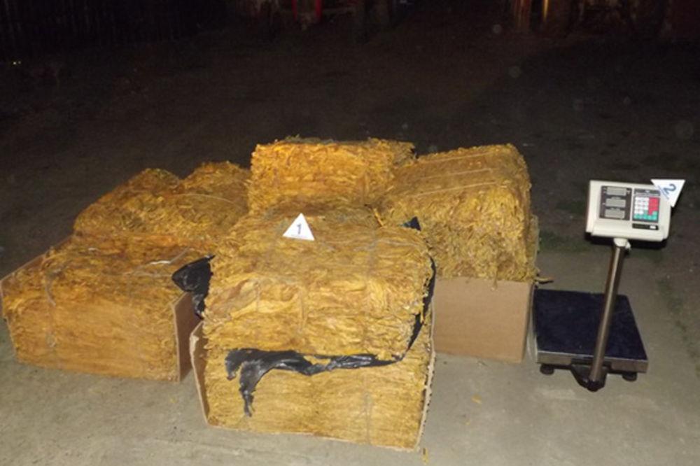 STARA PAZOVA: Policija zaplenila pola tone duvana