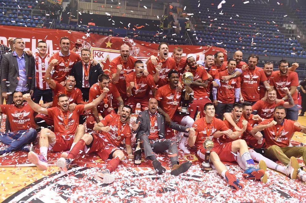 (VIDEO) ZVEZDA ŠAMPION: Crveno-beli dobili Partizan i odbranili titulu
