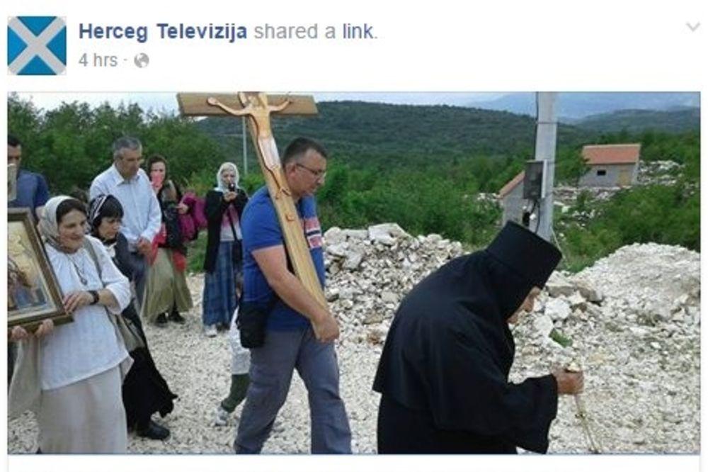 KRST IZ JERUSALIMA STIGAO U KORITA: Simoblični poklon hodočasnika iz Srbije