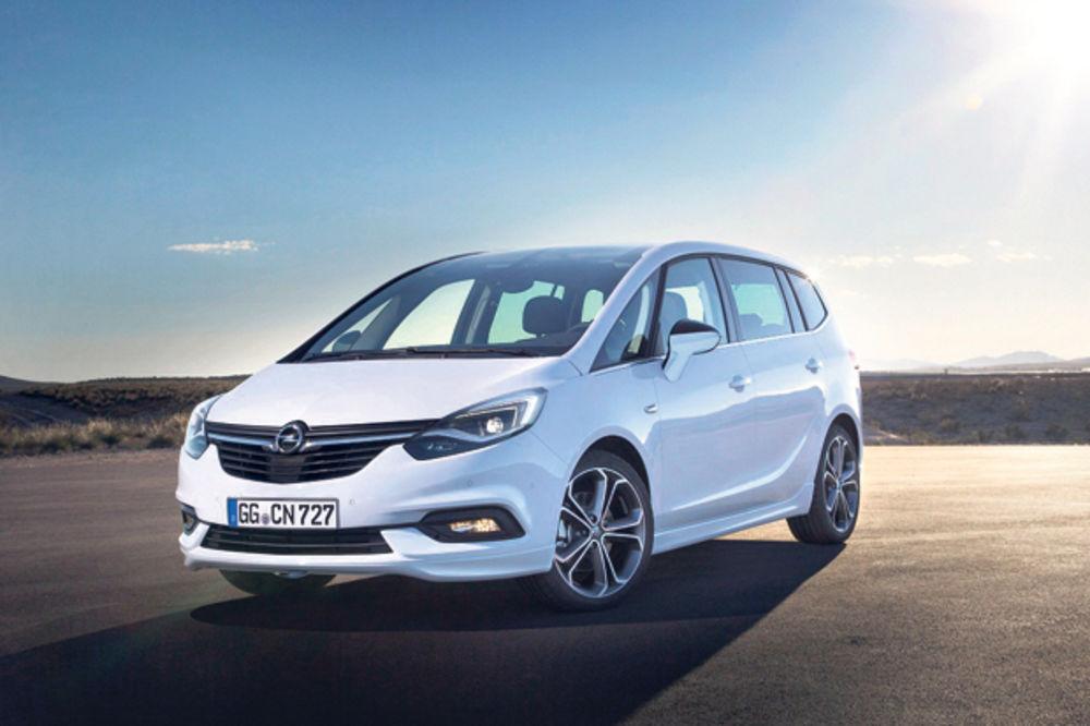 DIGITALNA MUNJA: Opel predstavio novu zafiru