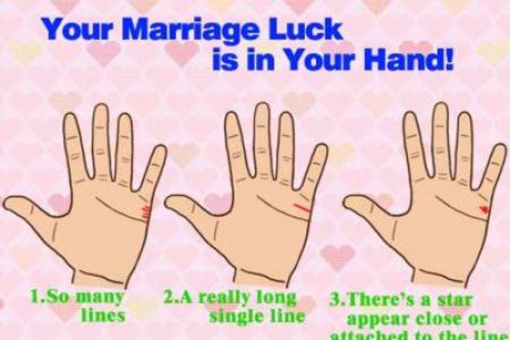 GLEDANJE U DLAN: Šta vaša linija braka govori o vašoj budućnosti!