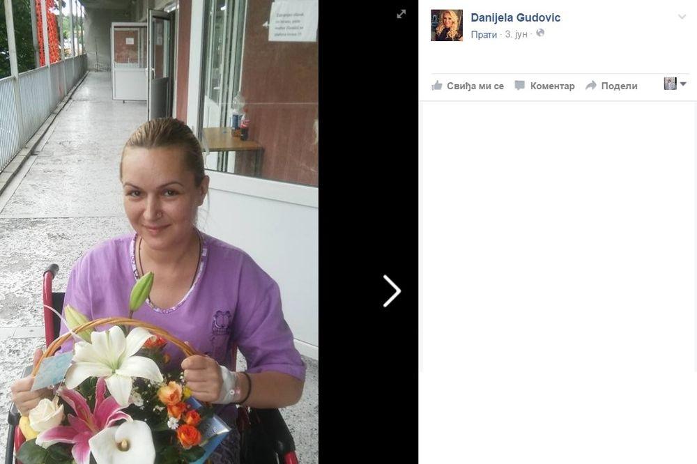 (FOTO) ŽIVOTNA DRAMA MLADE VODITELJKE: Danijela  Gudović završila u invalidskim kolicima!
