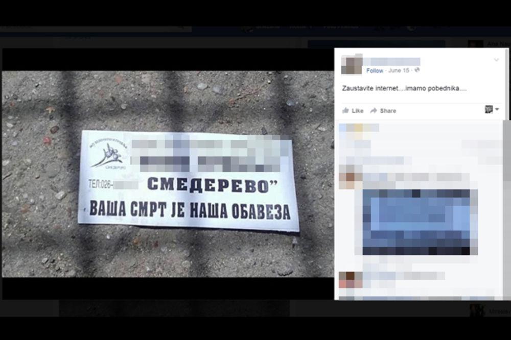 (FOTO) REKLAMA KOJA JE DIGLA SMEDEREVO NA NOGE: Vaša smrt je naša obaveza!