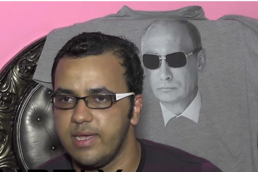 (VIDEO) VLADIMIRA IMA MNOGO, ALI JEDAN JE PUTIN: Egipćanin nazvao sina po ruskom predsedniku