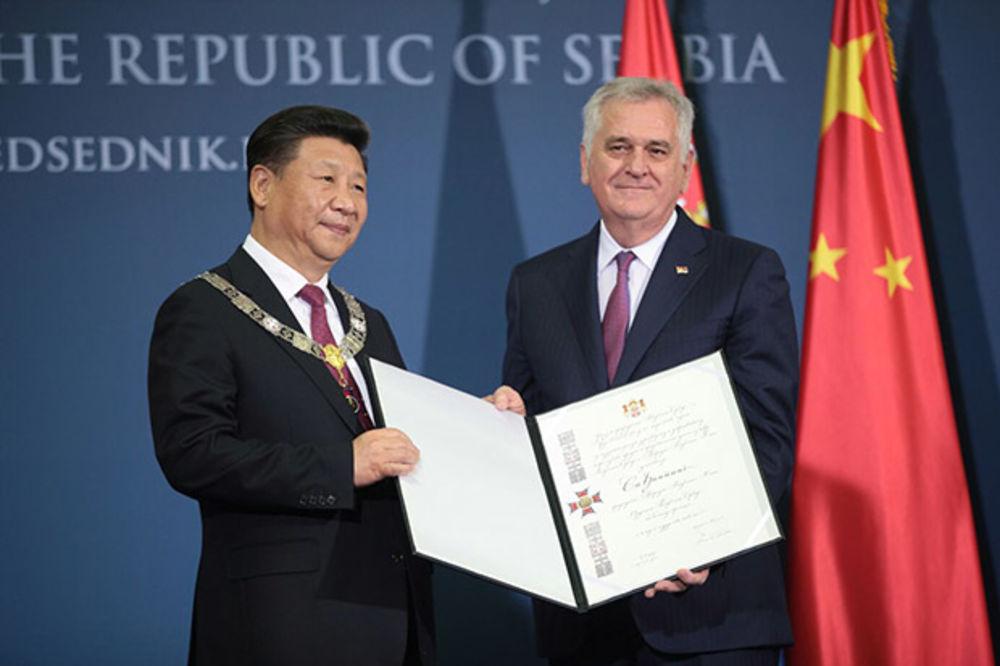 ORDEN NA VELIKOJ OGRLICI: Siju Đinpingu najviše odlikovanje Republike Srbije!