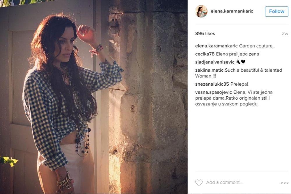 (FOTO) POMEŠALI JE SA ANĐELINOM DŽOLI: Elena Karaman Karić zbunila novom frizurom