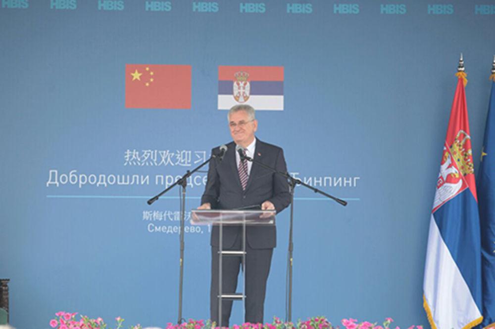 NIKOLIĆ U SMEDEREVU: Železara će, uz pomoć Kine, biti predvodnik razvoja Srbije