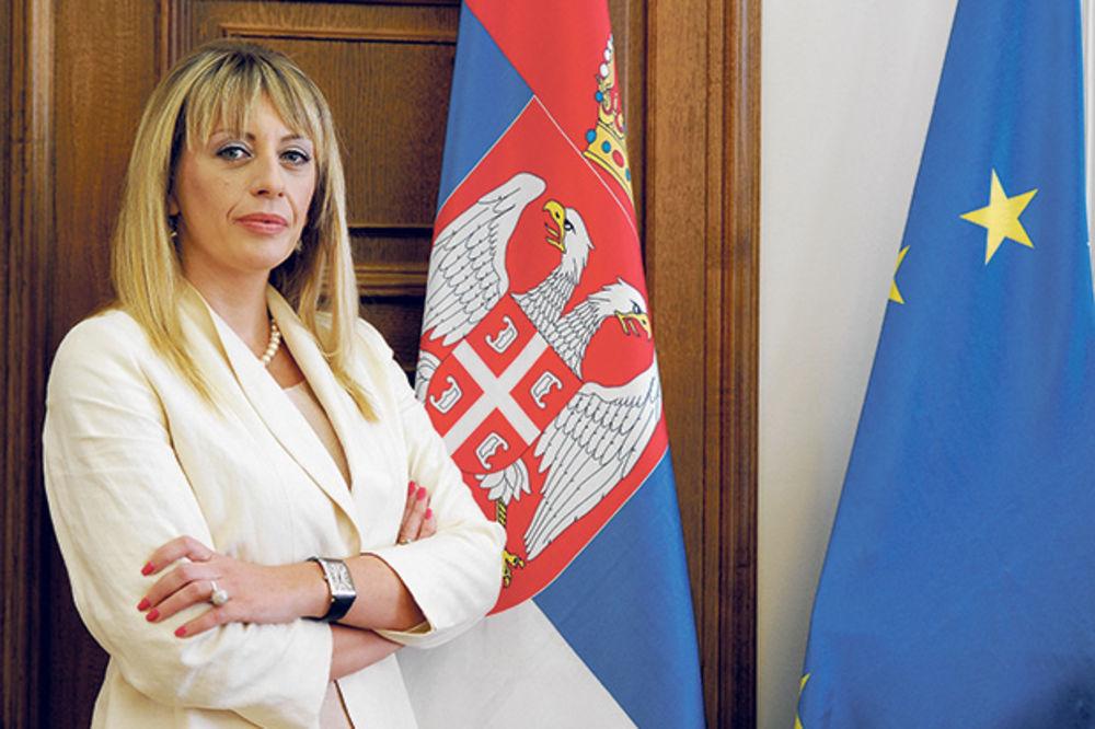 MINISTARKA JOKSIMOVIĆ U BUDIMPEŠTI: Interes Srbije stabilnost i napredak