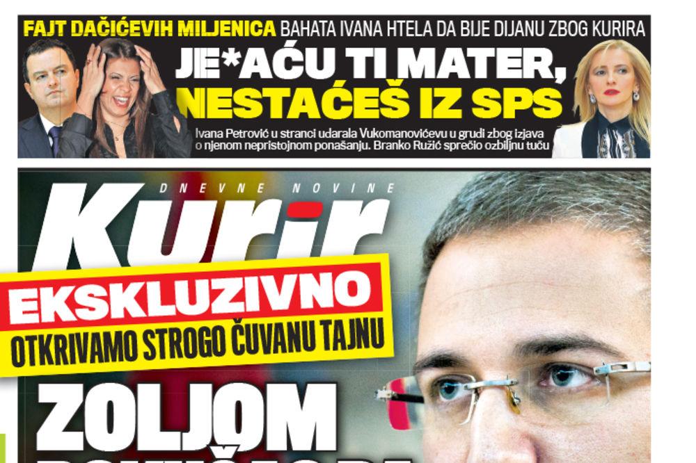 OTAC I SIN KRIMI TANDEM: Stefanovićev otac planirao lažni atentat na sina ministra!
