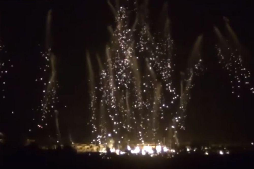 (VIDEO) Kiša belog fosfora nad Alepom: Rusija upotrebila razorno oružje na pobunjenicima