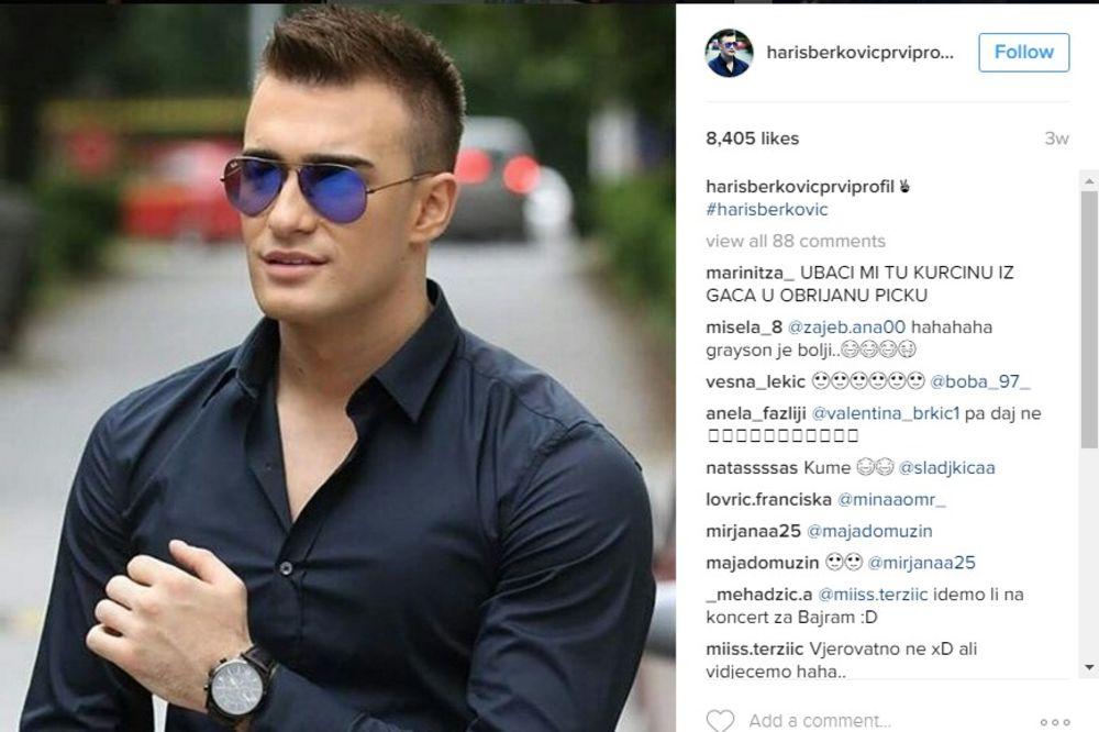 (FOTO) OPA, DEVOJKE ĆE POLUDETI: Haris se skinuo i zapalio Instagram!