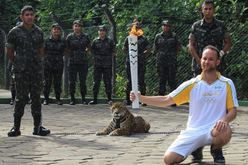 TRAGEDIJA U BRAZILU: Ubijen jaguar koji je učestvovao u Olimpijskoj ceremoniji