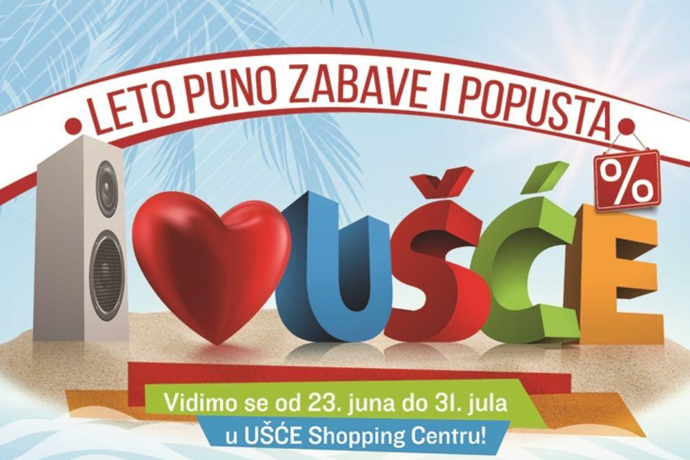 Mesto za najbolju letnju zabavu u gradu je Ušće Shopping Centar