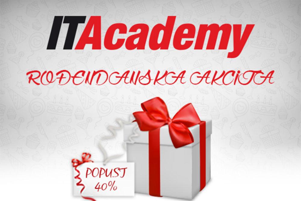 ITAcademy vam za svoj rođendan poklanja 40 odsto popusta