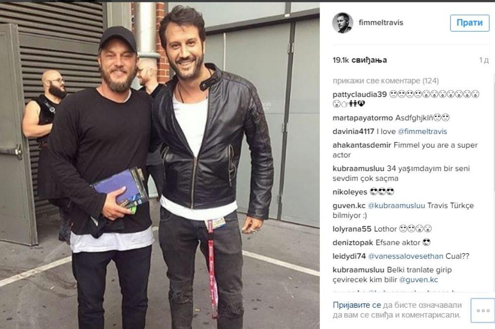 HOLIVUDSKI SUPERSTAR ZAGRLIO NAŠEG GLUMCA: Pohvalio se fotkom sa Instagramu