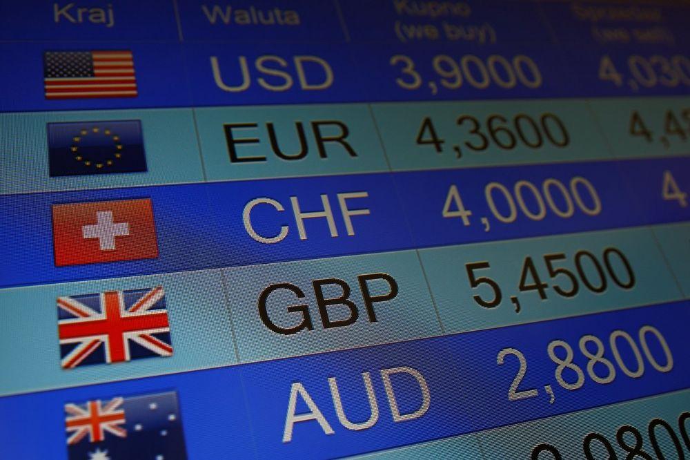 POTRES I NA BERZAMA: Funta i evro oslabili prema dolaru