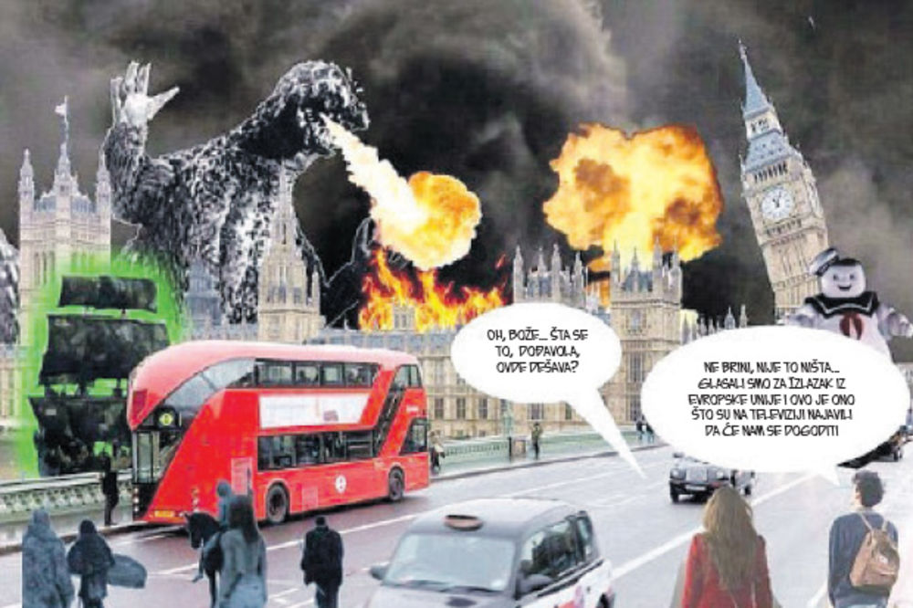 APOKALIPSA: Godzila ruši London!