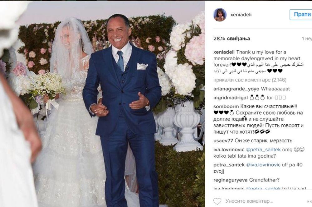 (FOTO) EH, TA LJUBAV: Najlepša žena na svetu (28) udala se za 36 godina starijeg milionera