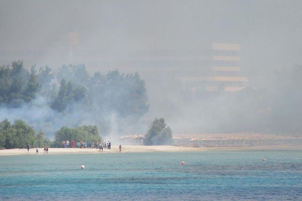 KONZULAT SRBIJE U SOLUNU: Požar lokalizovan, srpski turisti nišu ugroženi