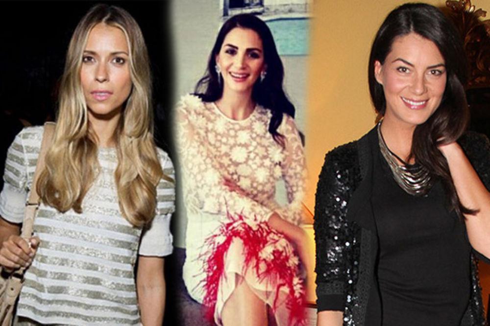 (FOTO) OVO SU BOGATE SRPKINJE: Naše lepotice koje su zavele milionere!