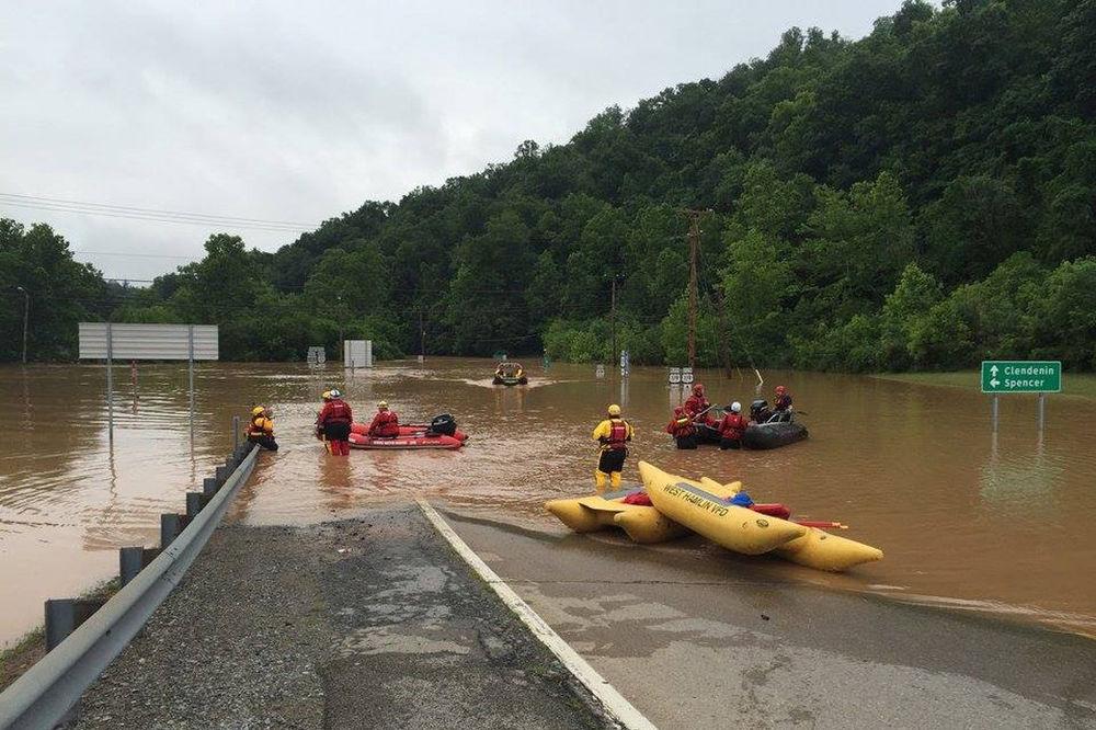 STRAVIČNE POPLAVE U SAD: Obama proglasio stanje prirodne katastrofe