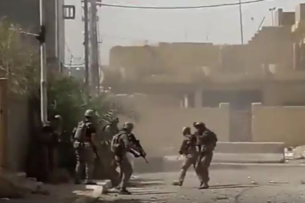 (VIDEO) VELIKA POBEDA IRAČKIH SNAGA: Faludža očišćena od džihadista, bitka je gotova!