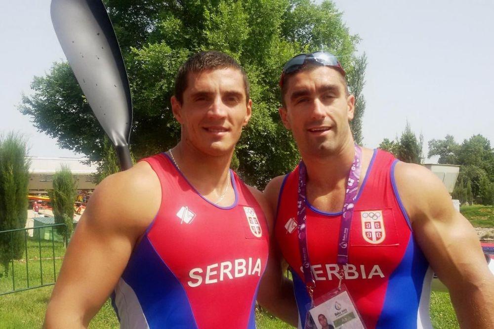 ŠAMPIONI EVROPE: Grujić i Novaković osvojili zlatnu medalju na 200 metara