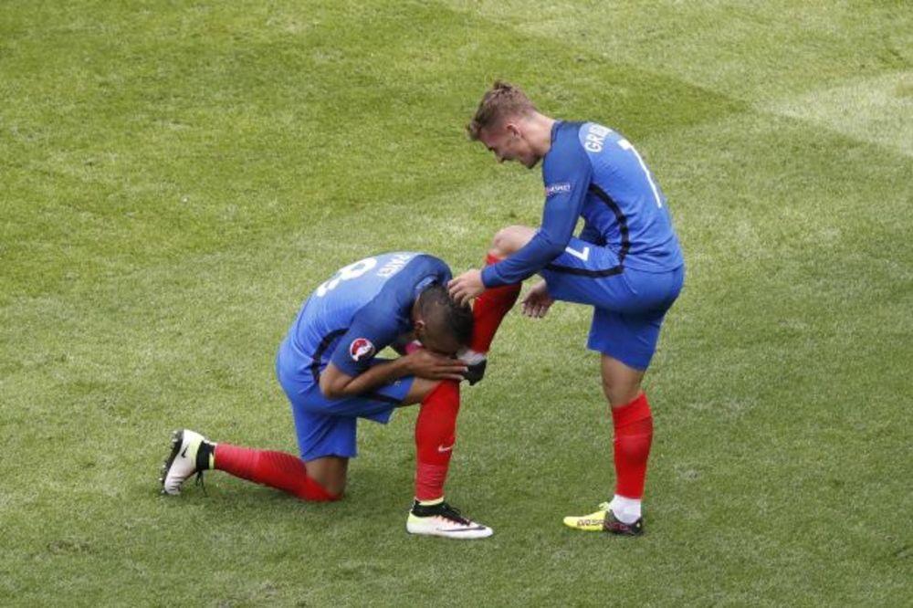 (VIDEO) NIŠTA OD OSVETE IRACA: Grizman za 3 minuta napravio preokret i odveo Francuze u četvrtfinale
