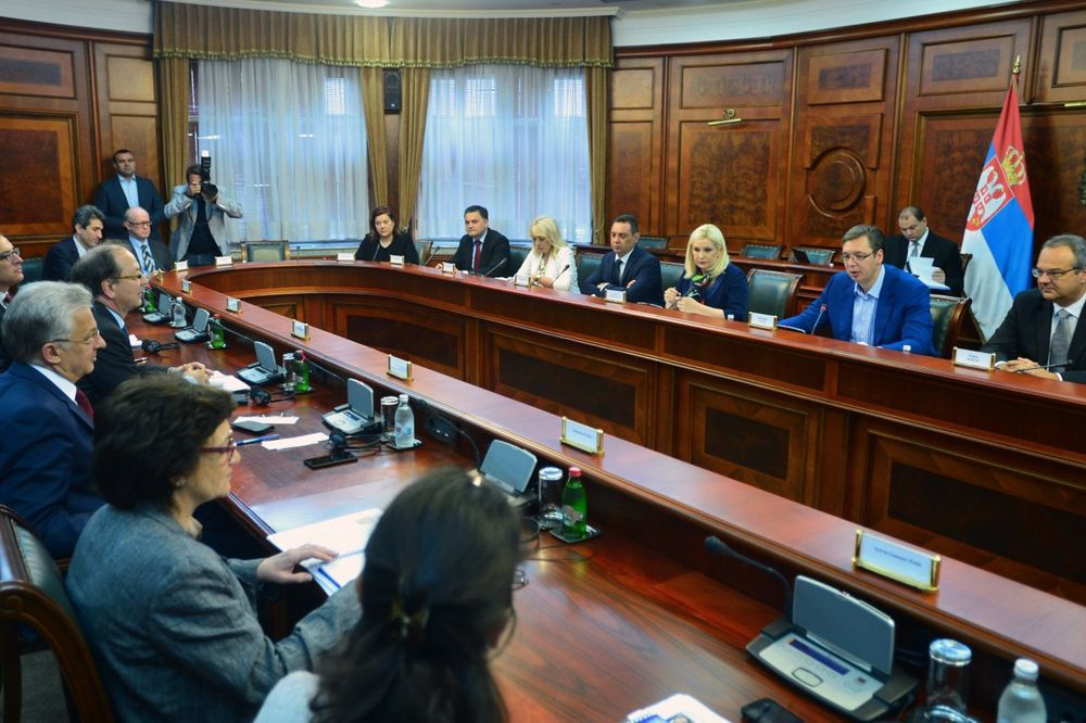 O POBOLJŠANJU INVESTICIONE KLIME: Vučić razgovarao sa članovima borda direktora EBRD