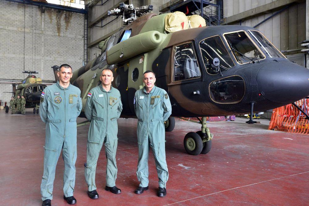 OBNOVA POSLE 30 GODINA: Stigli vojni helikopteri Vojske Srbije iz Rusije