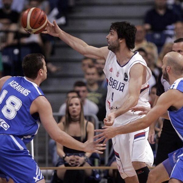(KURIR TV) ORLOVI ZRELI ZA OI: Srpski košarkaši razbili Grke u generalnoj proveri za napad na Rio