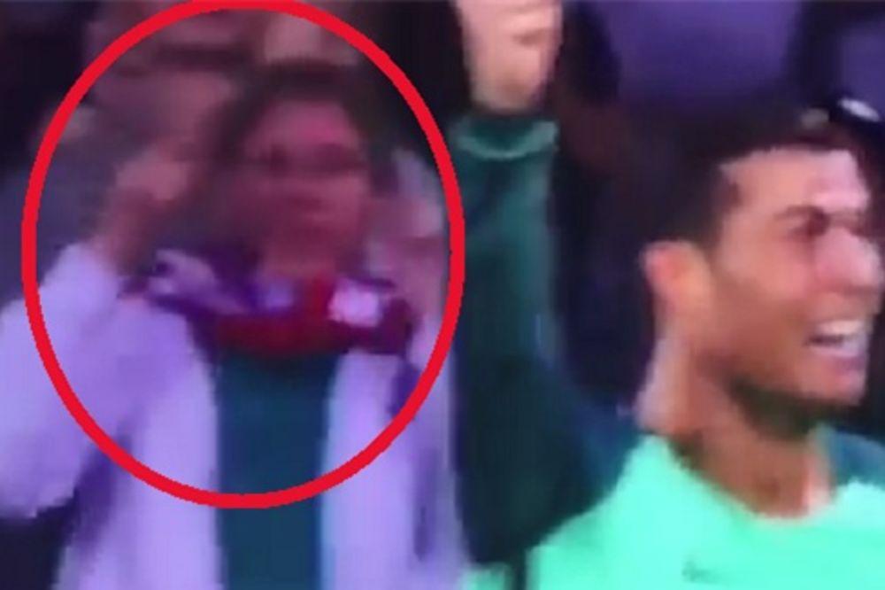 (VIDEO) NIŠTA GORE NIJE MOGLO DA JOJ SE DESI: Evo zašto se hrvatskoj navijačici smeje cela planeta