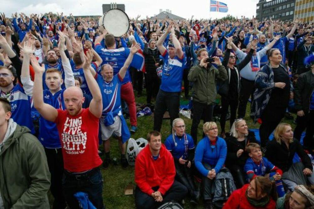 BLOG UŽIVO, VIDEO: Čak 99.8 odsto Islanđana pratilo meč sa Engleskom