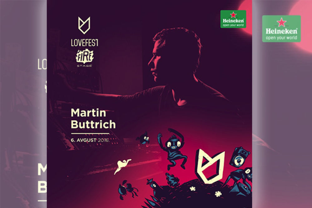 Martin Buttrich 6. avgusta na Lovefestu