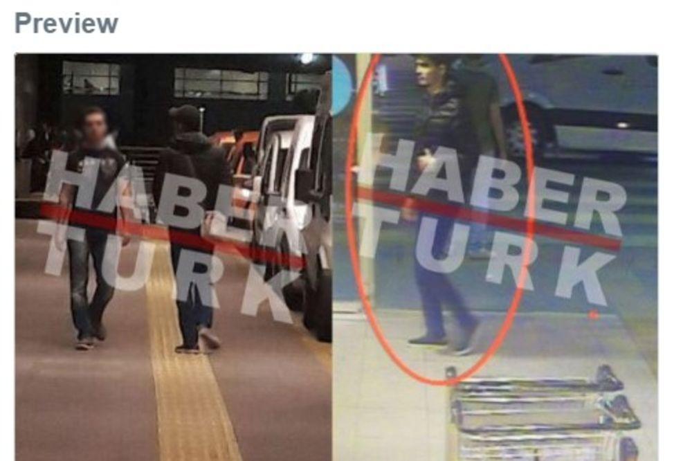 PRVA FOTOGRAFIJA TERORISTE IZ ISTANBULA: Ovako izgleda jedan od krvnika koji su napali aerodrom!
