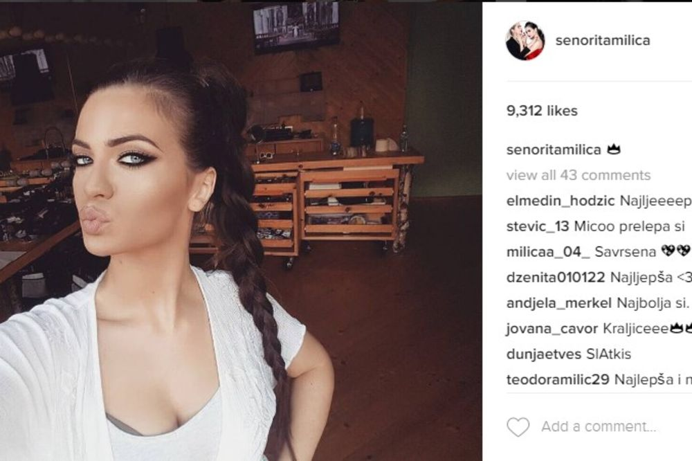 (FOTO) MILICA PAVLOVIĆ PROMENILA LIČNI OPIS: Ovakvu pevačicu do sada niste videli!