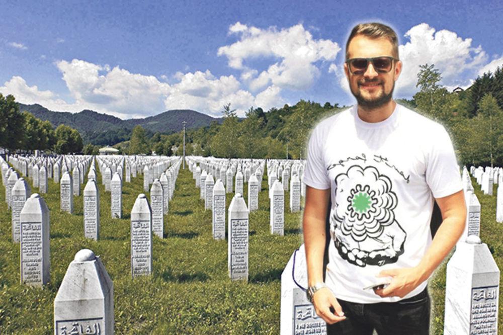"""BOLESNO: Bošnjaci na mrtvima u Srebrenici napravili """"modni"""" biznis!"""