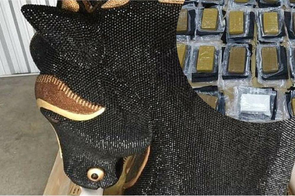 (FOTO) NOVI ZELAND: U konjskoj glavi pronađen kokain vredan 10 miliona dolara!